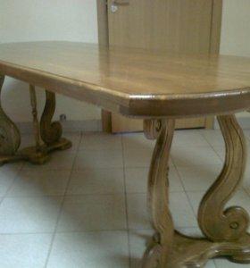 Стол обеденный из массива сосны