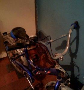 Детский велосипед двух колесный