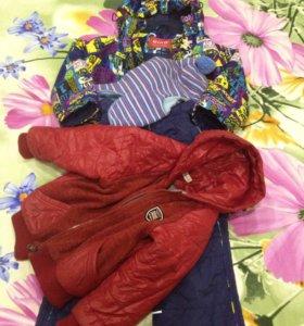 Курточка+штаны 98 рост, Шапочка+курточка, в о/с