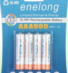Аккумуляторные батарейки enelong