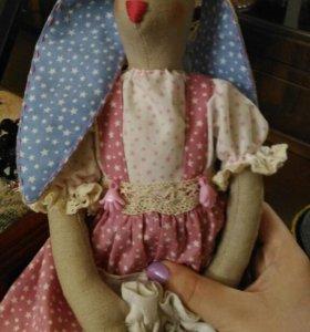 Кукла Зайка (в стиде тильда)