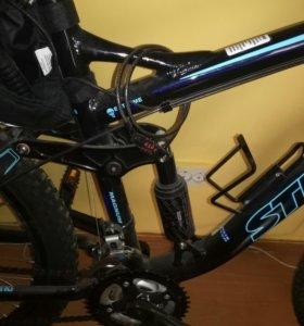 Двухподвесный скоростной велосипед