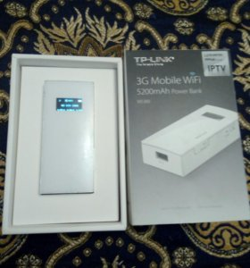 Продаю 3G Mobile WiFi, 5200mAh Power Bank