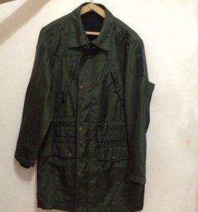 Демисезонное пальто для военнослужащего