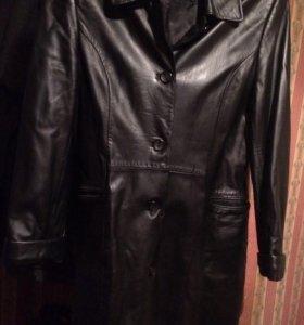 Кожаное пальто ! Натуральная кожа