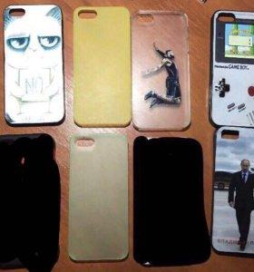 Чехлы на iPhone 5, 5s