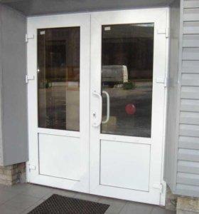 Продажа и установка пластиковых дверей