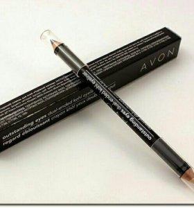 Двухсторонний карандаш для глаз