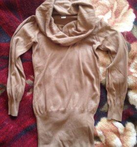 Кофта платье