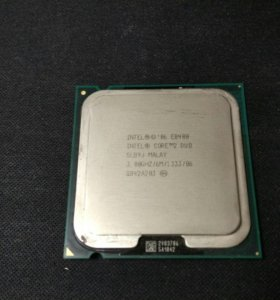 Процессор Intel Core 2 Duo E8400 lga775 socket 775