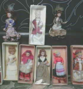 Куклы фарфор коллекции тематические