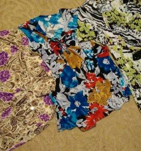 Кофточки и платье 50-54