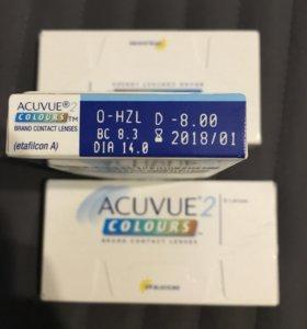 Цветные линзы Acuvue colours -8 -5,5