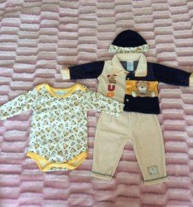 Новый комплект одежды на мальчика