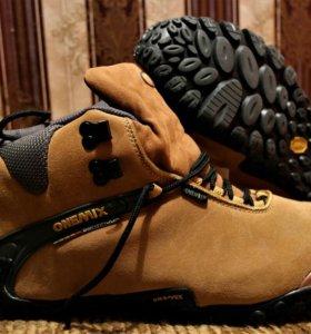 Зимние \ осенние утепленные кроссовки ONEMIX