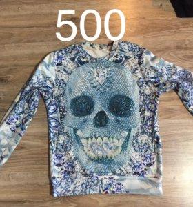 Свитшот и блузка