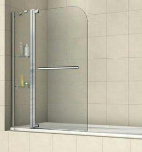 Шторка на ванну, RGW SC-04,110*150