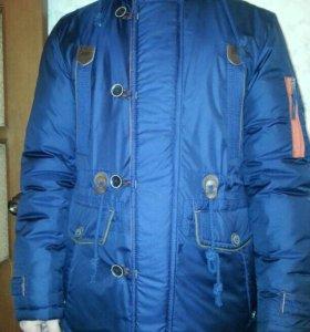 Куртка мужская на синтепоне зимняя