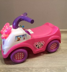 Каталка машинка для девочки