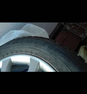 Зимняя резина с дисками на BMW