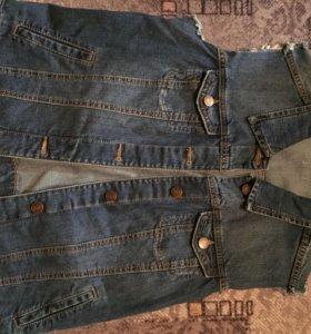 Жилетка джинсовая Mango