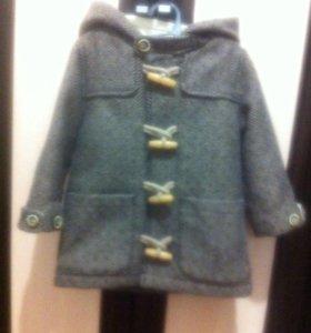 Пальто ZARA baby 1-2 года
