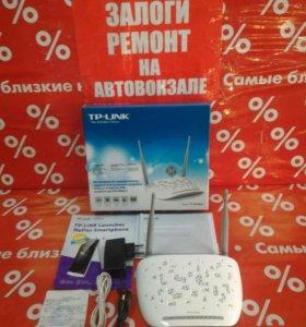 Wi-Fi-adsl2+ роутер TP-link TD-W8968