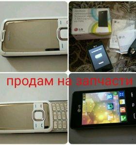 Телефоны LG, nokia