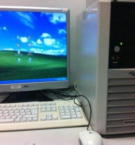 Компьютер 775 с монитором