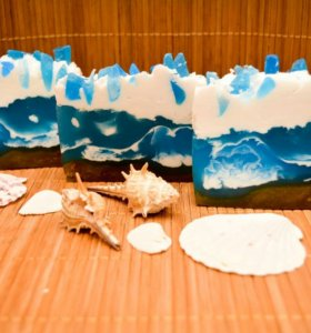 Мыло ручной работы атлантический океан