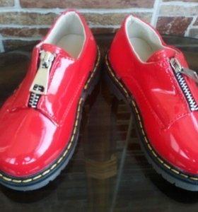 Новые ботинки р 25