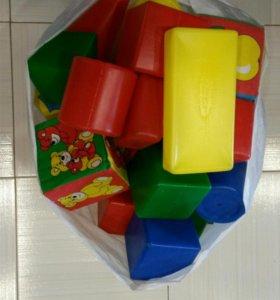 пакет кубиков