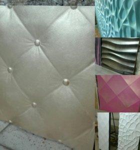 3D панели стеновые.