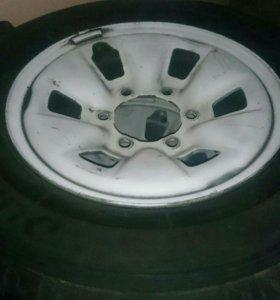 Комплект колес 195/80/15 LT