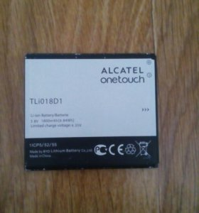 Батарейка на телефон ALCATEL onetouch pop