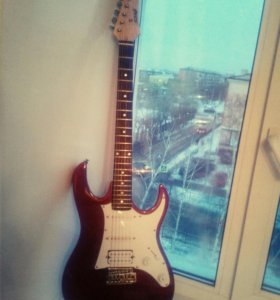 Электро-гитара Homage HEG340RD+Гитарный усилитель