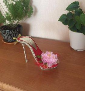 Подарочная туфелька