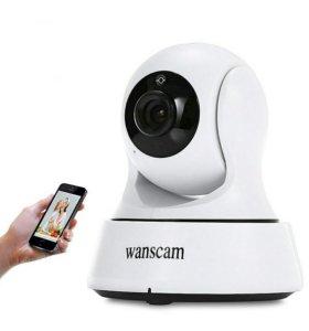 Управляемая IP WIFI камера видеонаблюдлюдения