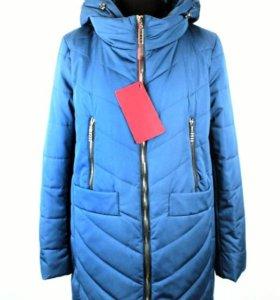 48-56р Демисезонное пальто новое