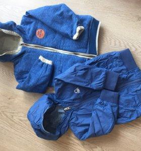 Двухсторонние куртки Benetton/Zara