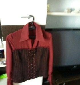 Костюм блузка юбочка