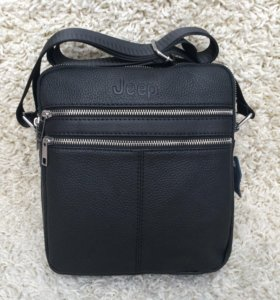Мужская кожаная сумка-планшет. Новая