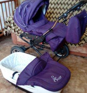 Детская коляска 2-в-1