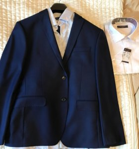 Костюм мужской пиджак брюки рубашка