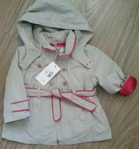 Пальто Okaidi новое