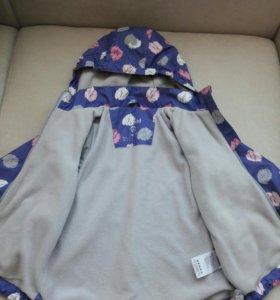 Демисезонная куртка на флисе Crockid