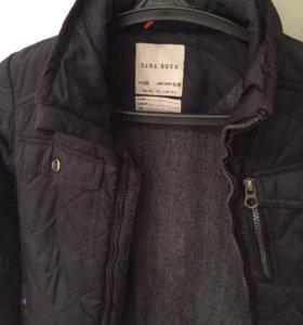 Куртка осенняя рост 140 на 9-10 лет