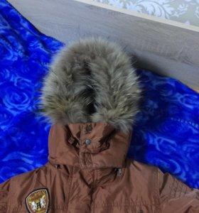 Куртка и полукомбинезон 104 зима