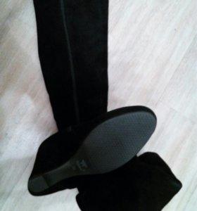 Продам новые сапоги-ботфорты