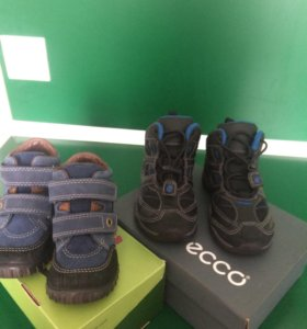 Новые ботиночки ессо д/м (демисезонная)